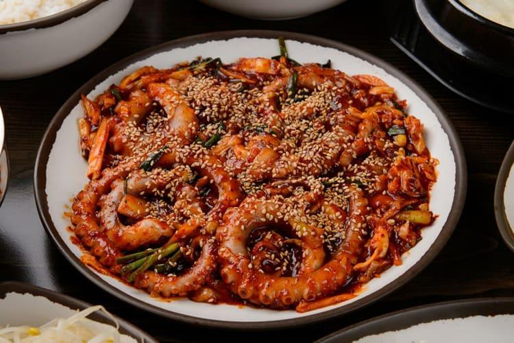 mat från korea