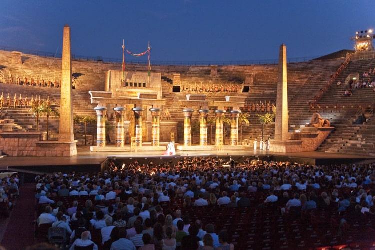 konsert i arena di verona